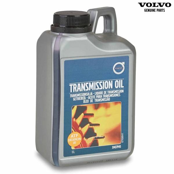 Original Volvo Getriebeöl ATF Dexron III 1 Liter 31437945 - Vorderseite
