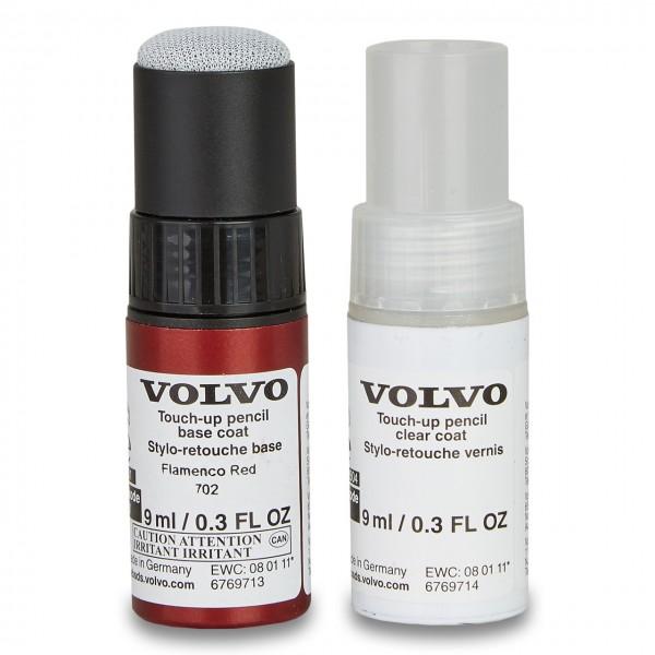 Farbcode 702 - Flamenco Red Pearl - Volvo Lackstift Set 31283179