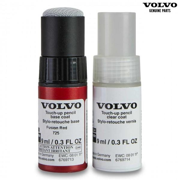 Original (725) Fusion Red - Volvo C40 Lackstift Set 31651045