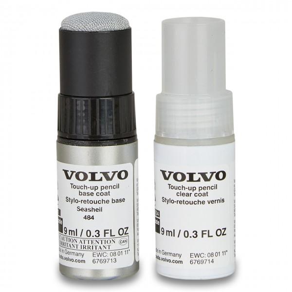 Volvo Lackstift Set Farbcode 484 Seashell Metallic ohne Verpackung