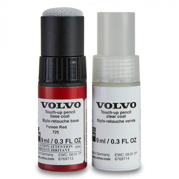 Farbcode 725 - Fusion Red - Volvo Lackstift Set 31651045