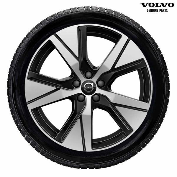 Original Volvo XC40 Pure Electric Winterradsatz 5-Speichen-Sport-Design 19 Zoll mit Pirelli Scorpion Winter 32281996