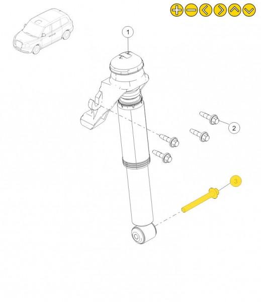 LEVC Schraube M12 x 100mm 1J0001057AA