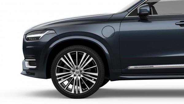 Volvo XC90 mit Radhausverbreiterung lackiert (723) Denim Blue 39846898