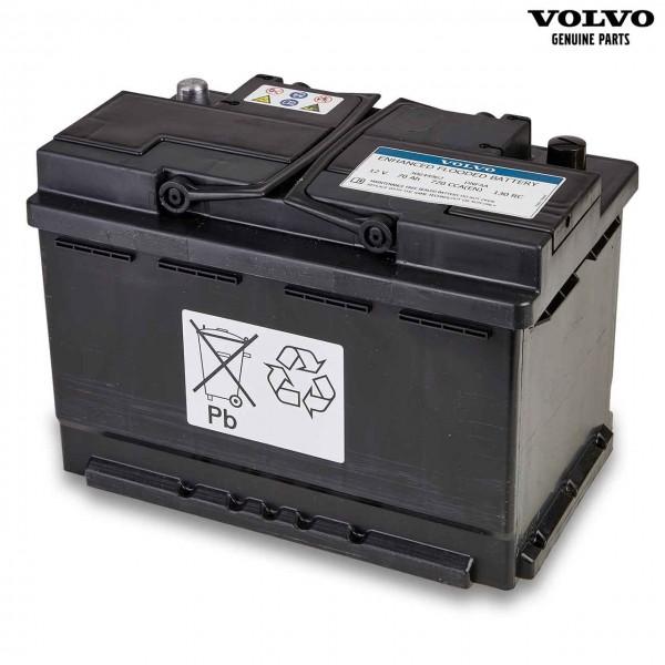 Original Volvo Autobatterie 12V 70Ah 720A 30644962 - Vorderseite