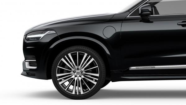 Volvo XC90 mit Radhausverbreiterung lackiert (717) Onyx Black 39844216