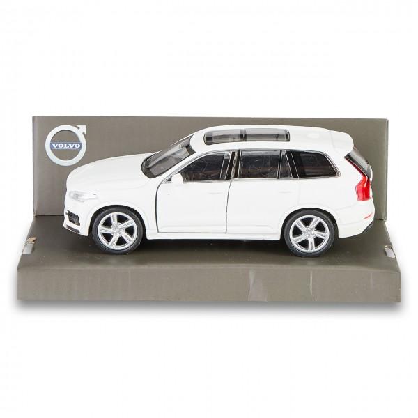 Volvo XC90 Spielzeugauto mit Rückzugmotor Weiß 1:38
