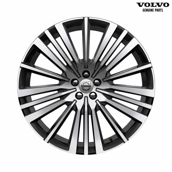 Original Volvo XC90 Alufelge 22 Zoll 20-Speichen 32207757 - Vorderseite