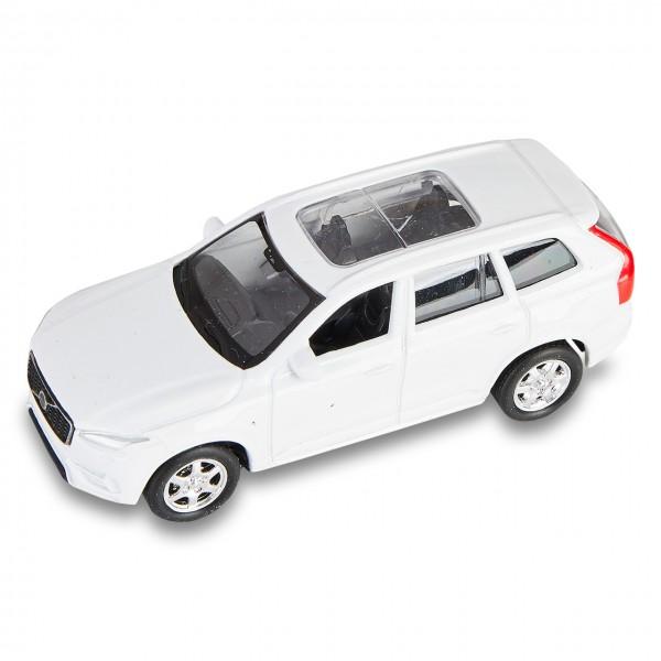 Volvo XC90 Spielzeugauto mit Rückzugmotor Weiß 1:60
