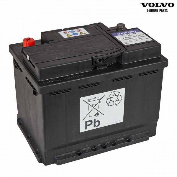 Original Volvo S40 Autobatterie 12V 60Ah 520A 30659797 - Vorderseite