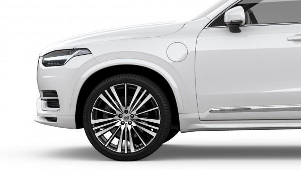 Volvo XC90 mit Radhausverbreiterung lackiert (614) Ice White 39844135