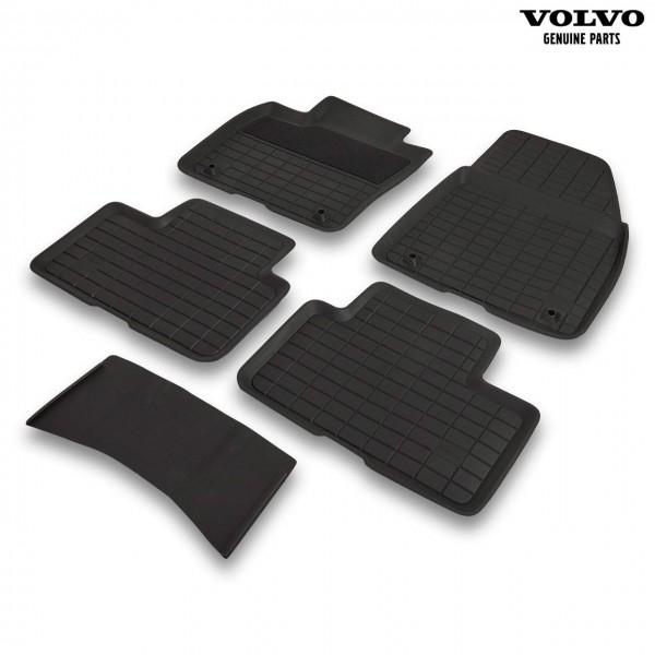 Original Volvo Fußmattensatz aus Gummi 31470948