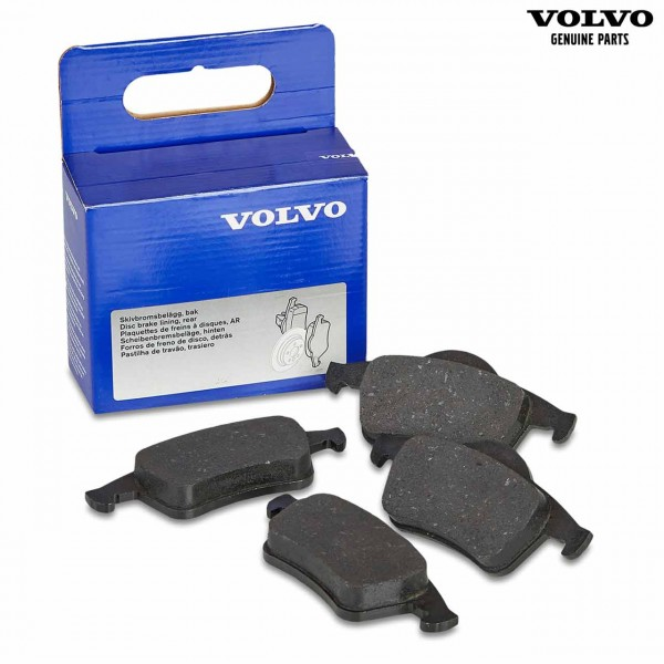 Original Volvo S70 (00-08) Bremsbeläge Hinterachse 30648382 - mit Verpackung
