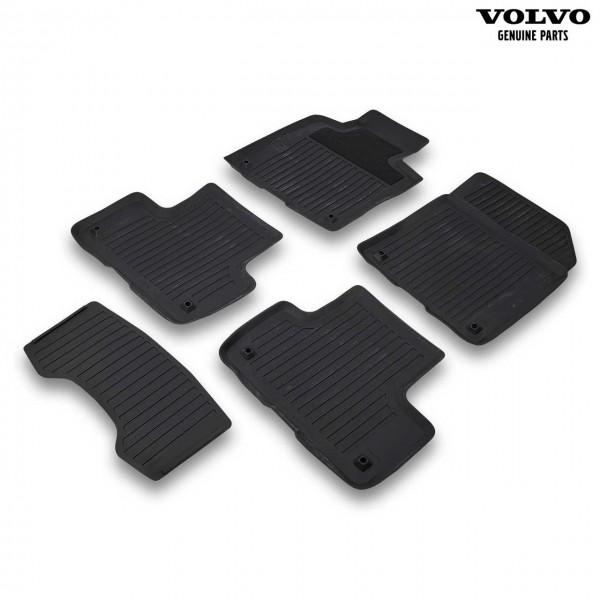 Original Volvo Gummi Fußmattensatz Farbe Charcoal 31693648