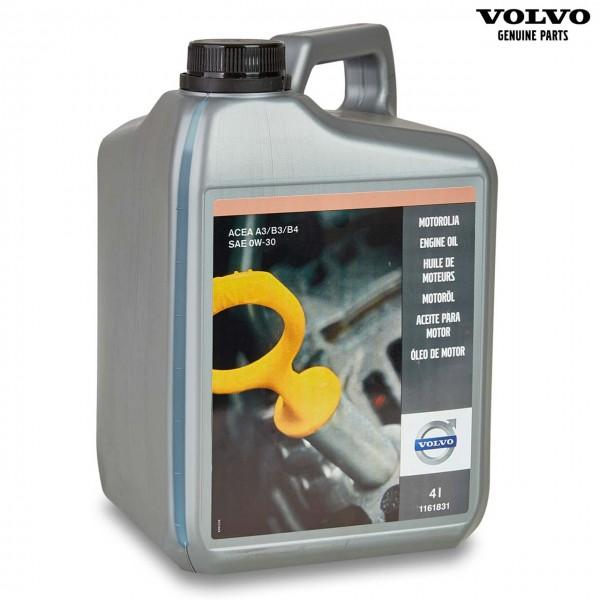 Original Volvo Motoröl 0W-30 - 1161831 - Vorderseite