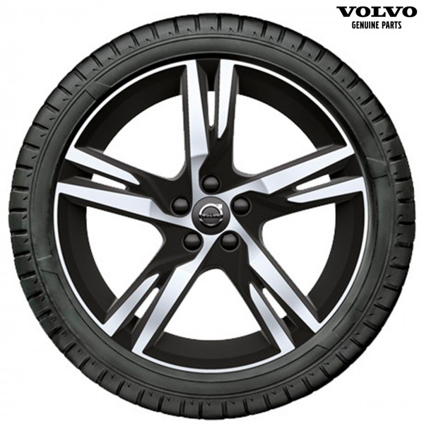 Original Volvo XC60 (2018-) Winterradsatz 5-Doppelspeichen R-Design 32333958
