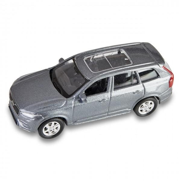 Volvo XC90 Spielzeugauto mit Rückzugmotor Grau 1:60