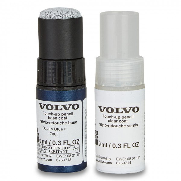 Farbcode 706 - Ocean Blue II - Volvo Lackstift Set 31307045