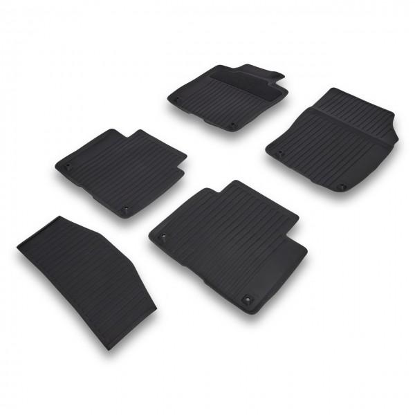 Volvo Gummi Fußmattensatz Farbe Charcoal 31693670