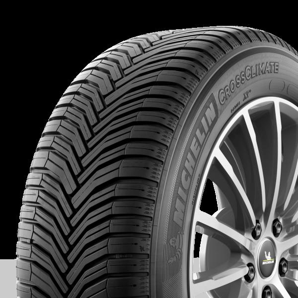 Ganzjahresreifen Michelin CrossClimate+ 255/40 R19 100V XL mit Felgenschutzleiste 282362 - Reifen auf der Felge