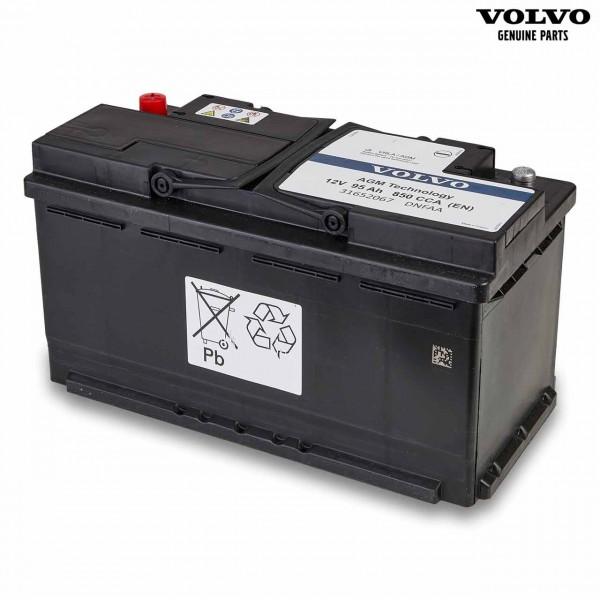 Original Volvo Autobatterie 12V 95Ah 850A 31652067 - Vorderseite