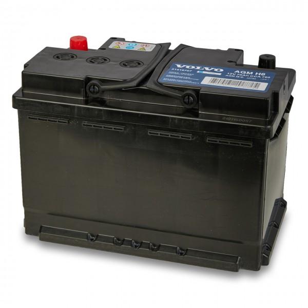 Volvo Autobatterie 12V 70Ah 760A 31419707