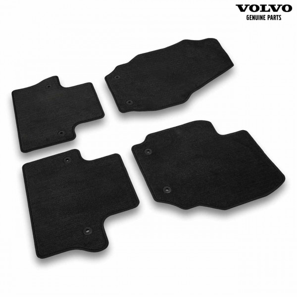 Original Volvo V70 Textil Fußmattensatz Farbe Offblack 39866370 - Set